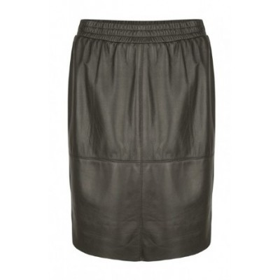 Dante 6 Comet Skirt Leather - Black
