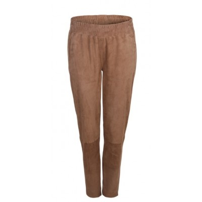 Dante 6 Moji Relax Suede Pants - Mocca