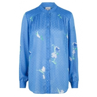 Dante 6 Bia Flower Blouse - Sky Blue