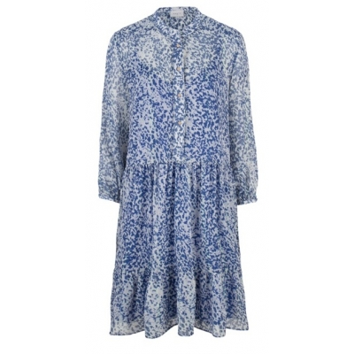 Dante 6 Lalique Print Dress - Rebel Blue