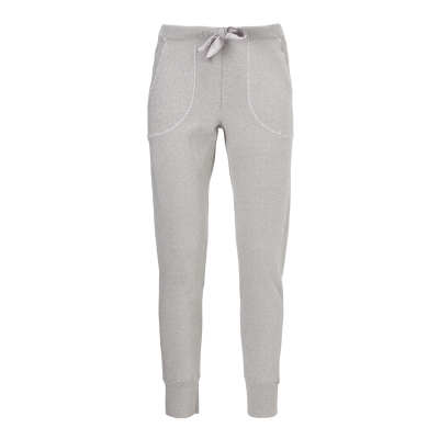 Gustav Lurex Knit Pants - Spring Cloud