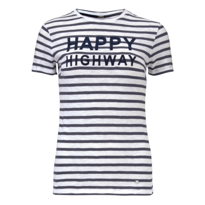 Gustav Striped Shirt - Navy/White / SOLD OUT