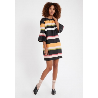 Ana Alcazar Dress Segali - Multicolor Stripe