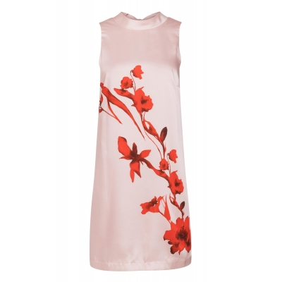Ana Alcazar Dress Senty - Pink Flower