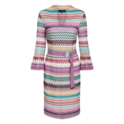 Ana Alcazar Dress Sliwane - Multicolor