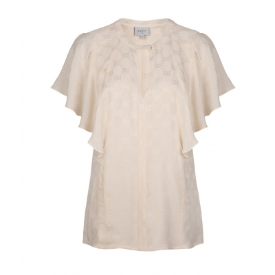 Dante 6 Lily Jacquard Top - Butter Cream