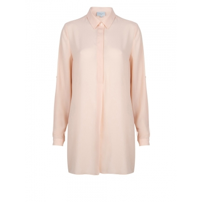 Dante 6 Opulent Tunic Blouse - Light Pink