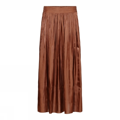 Gustav High Waist Wide Skirt - Caramel | SPRING SALE
