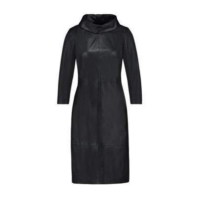 Ibana Leather Dress Erin - Black / SALE