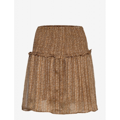 Levete Room Josie Skirt - Brown Gold