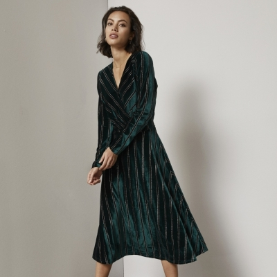 Minus Ira Dress - Evening Green / SALE