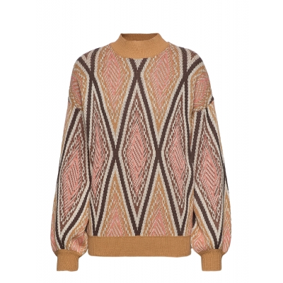 Minus Kadja Knit Pullover - Native Jaquard / SALE