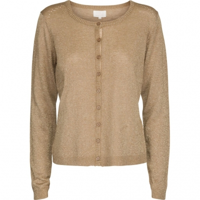 Minus New Laura Cardigan - Medal Gold Lurex / SOLD OUT
