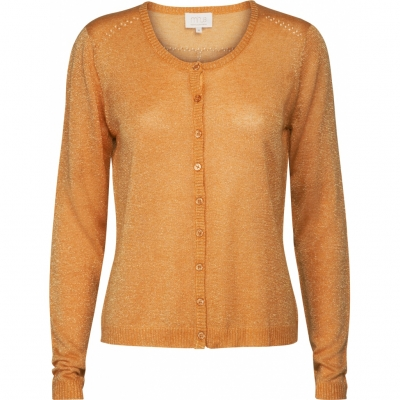 Minus New Laura Cardigan - Golden Yellow