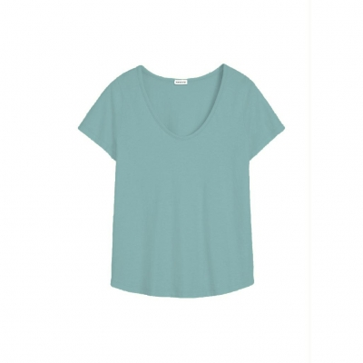 Neeve Tshirt The U-Neck - Ocean Green