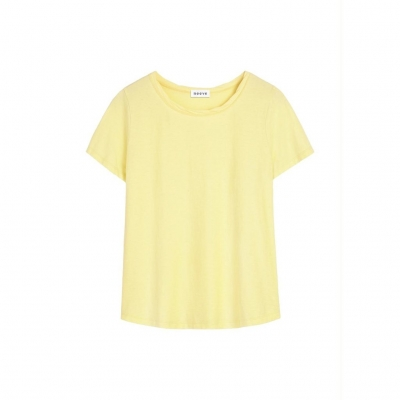Neeve Tshirt The Crew - Bright Yellow