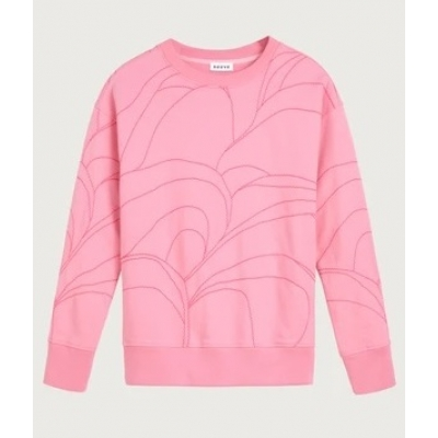 Neeve The Stitched Sweater - Radiant Pink  | SPRING OFFER